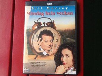 DVD (läs beskr.) - Måndag hela veckan (Bill Murray) - Oxie - DVD (läs beskr.) - Måndag hela veckan (Bill Murray) - Oxie