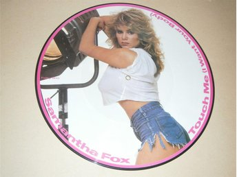 Samantha Fox - Touch Me (I Want Your Body) UK-86 (Picture Disc)