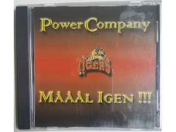 Cd - Power Company - Tigers - Mååål igen