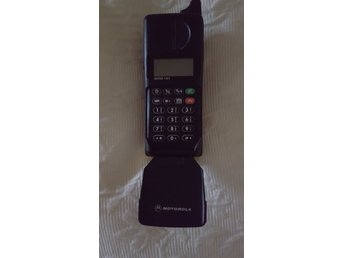 MOTOROLA International 5200 mobiltelefon retro samlare vintage med laddare