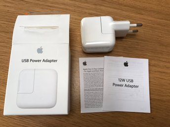 Apple laddare 12W USB power adapter - Kalmar - Apple laddare 12W USB power adapter - Kalmar