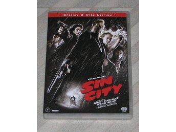 Sin City - Svensk Text (DVD) 2-Disc - Bruce Willis Jessica Alba - Mickey Rourke - Ski - Sin City - Svensk Text (DVD) 2-Disc - Bruce Willis Jessica Alba - Mickey Rourke - Ski