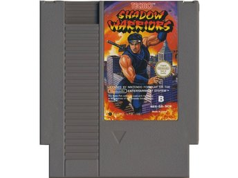 Shadow Warriors - NES - Kassett