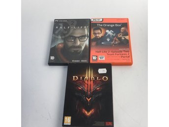 PC-spel, 3st, The Orange Box, Half-Life 2, Diablo