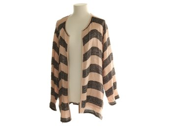 The Masai Clothing Company, Cardigan, Strl: XL, Rosa/Svart