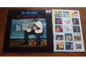 JOE WILLIAMS At Newport 63 Blues Classic Coleman Hawkins RCA