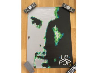 U2 - POP poster / Larry Mullen