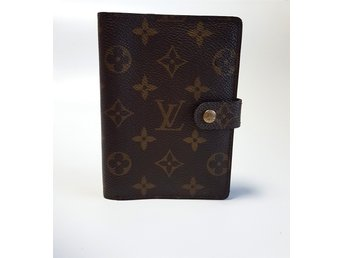 ÄKTA! Louis Vuitton Small Ring Agenda kalender Monogram
