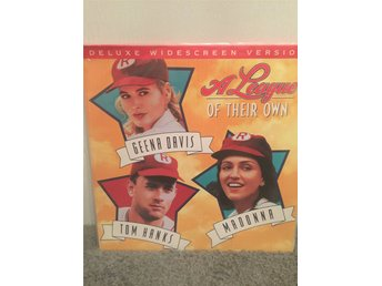 A league of their own. US LASERDISC Tom Hanks Madonna
