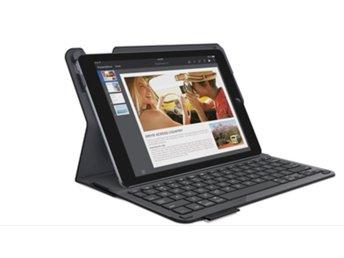 Logitech type+ iPad Air 2 bluetooth bärbar dator laptop skal fordral fodral d92b9324878af
