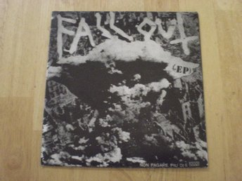 Fallout - EP  (PUNK FROM ITALY)  RARE!