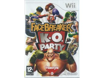 FACEBREAKER - K.O PARTY   ( INPLASTAT WII )