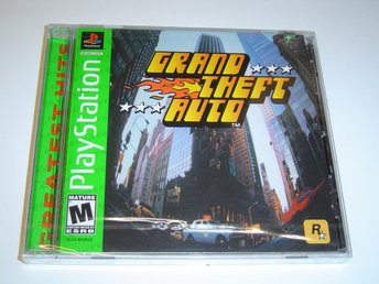 Grand Theft Auto GTA Sony Playstation Amerikanskt USA NTSC *NYTT*