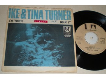 Ike & Tina Turner 45/PS I´m yours 1971