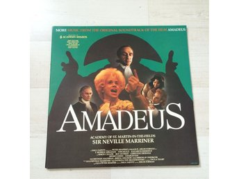 AMADEUS - ORIGINAL SOUNDTRACK. (NEAR MINT LP) - Frövi - AMADEUS - ORIGINAL SOUNDTRACK. (NEAR MINT LP) - Frövi