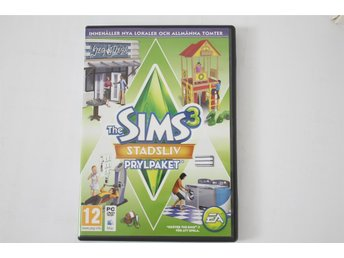 PC-Spel/Datorspel THE SIMS 3 Expansionpack STADSLIV