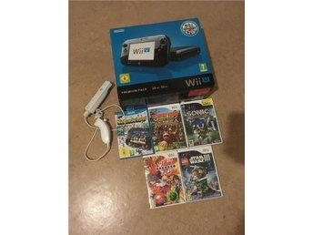 Nintendo Wii U svart premium 32 GB Nintendo land - Linköping - Nintendo Wii U svart premium 32 GB Nintendo land - Linköping