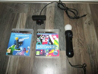 Playstation move paket med köp nu bonus
