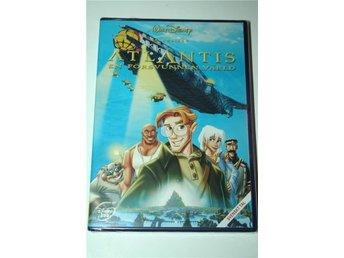 ATLANTIS - EN FÖRSVUNNEN VÄRLD - WALT DISNEY KLASSIKER 40 (DVD) NY & INPLASTAD! - Stenhamra - ATLANTIS - EN FÖRSVUNNEN VÄRLD - WALT DISNEY KLASSIKER 40 (DVD) NY & INPLASTAD! - Stenhamra