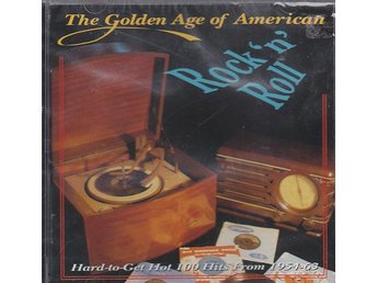 CD ACE Records. The Golden Age Of American Rock N Roll