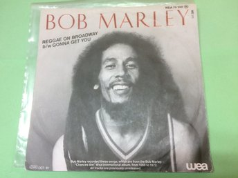 "Bob Marley - Reggae on broadway 7"" WEA 1981 (WEA 79250) Låtar: Reggae on broadwa - Odensbacken - Bob Marley - Reggae on broadway 7"" WEA 1981 (WEA 79250) Låtar: Reggae on broadwa - Odensbacken"