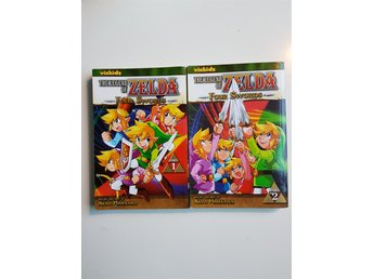 Bok : The legend of Zelda - four swords - engelsk text - volym 1 & 2