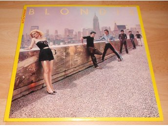 BLONDIE - AUTOAMERICAN, JAPAN LP W. INSERTS 1980