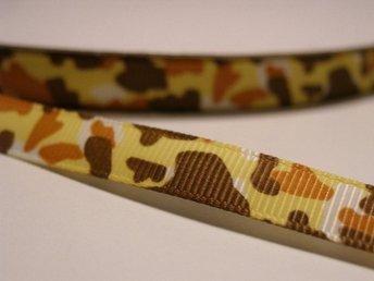 21a7b25f Sammetsband gult 1 meter ca 10 mm brett. (337880687) ᐈ Hobbymixen ...