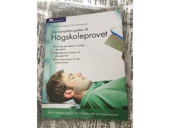 Den kompletta guiden till högskoleprovet - Växjö - Beg. men utmärkt skick då den (tyvärr) knappt är öppnad. - Växjö