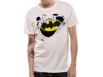 BATMAN - TORN LOGO (UNISEX) - Extra-Large