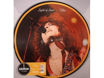 T. REX / MARC BOLAN 'Light Of Love' UK picture-disc LP