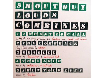 Shout Out Louds - Combines (CD, EP)