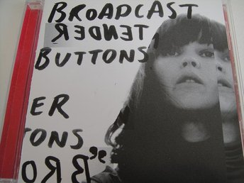 BROADCAST Tender buttons CD WARP TOPPSKICK!!!