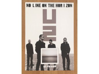 Poster U2 No Line On The Horizon i toppskick