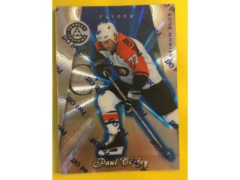 PAUL COFFEY: 1997-98 Pinnacle Totally Certified Platinum Blue #102 3099ex