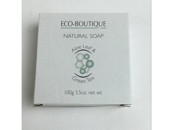 ECO-BOUTIQUE, Tvål, Vit
