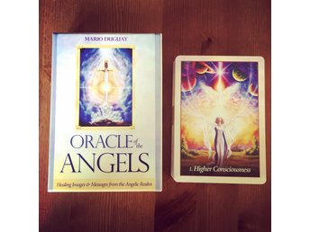 Oracle of The Angels by Mario Duguay - NY INPLASTAD. Tarot New Age.