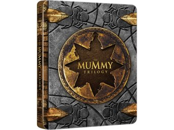 The Mummy Trilogy - Limited Edition Steelbook Blu-ray