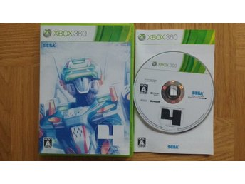 Xbox 360: Virtual On 4 Force (japanskt/regionsfritt)
