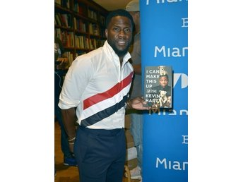 Kevin Hart I Can't Make This Up: Life Lessons Neil Strauss - Äkta Signerad Bok!