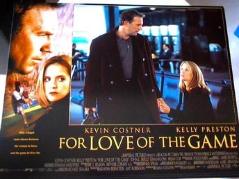 FOR LOVE OF THE GAME Kevin Costner,Kelly Preston 1999 FOTO 2