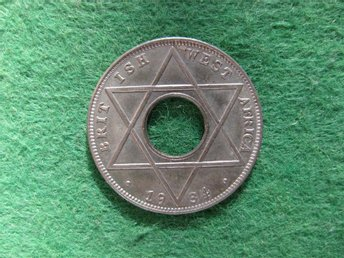 British West Africa 1/10 penny 1934