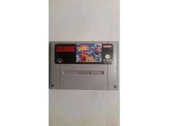 Supernintendo SNES spel Plok