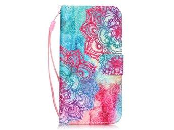 Plånboksfodral till iPhone 7 - Henna Flowers - Norsborg - Plånboksfodral till iPhone 7 - Henna Flowers - Norsborg