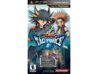 Yu-Gi-Oh! 5Ds Tag Force 5 - Sony PSP