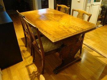 Matbord För 10 Personer : Matbord med stolar bord upp till personer quot på tradera