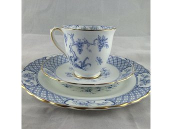 Tuscan fine english bone china kaffe kopp med fat och assiett