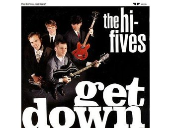 The Hi-Fives -Get Down lp S/S 1998 Power pop / Lookout! rec