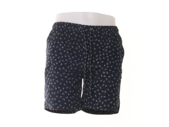 New Look Men, Badshorts, Strl: XS, Mörkblå/Vit