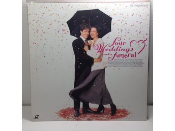 Four Weddings and a Funeral (Andie MacDowell Hugh Grant) Laserdisc 1LD B8-12